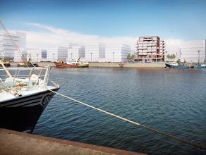 RESIDENTIE BAELSKAAI:Ruime appartementen met 1, 2 of 3 slaapkamers gelegen langs de Oosteroever te Oostende, zuid gericht met zicht op het Visserijdok