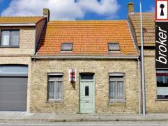 Veurne ? Houtem ? rijwoning met grote tuin en mooi weids uitzicht te koop Veurne Houtem : Rijhuis met grote tuin en mooi weids uitzicht, woonplaats en
