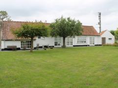 Diksmuide ? Nieuwkapelle ? landelijk en rustig gelegen woning met verzorgde tuin te koop Landelijk en rustig gelegen woning met mooie en verzorgde tui