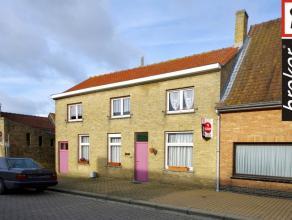 Veurne ? Beauvoorde ? Wulveringem ? grote woning met 3 slaapkamers en tuin te koop Veurne ? Beauvoorde ? Wulveringem : Verzorgde grote rijwoning, inko