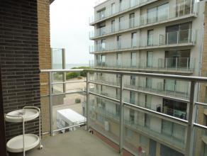 appartement met 2 slaapkamers;30 meter van het strand;centrale ligging in Oostduinkerke-bad;2 balkons;gevel vernieuwd, lift we