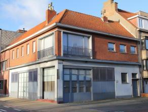 """Handelseigendom met garagecomplex + appartement (geschikt als projectgrond voor appartementsgebouw)Zonnig, residentieel en welgelegen """"PROJECTGROND"""" t"""