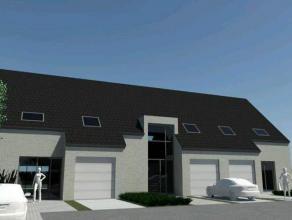 Nieuwbouwwing in centrum Gistel op 248 m². Gesloten bebouwing met ruime living, open keuken en berging. 3 slaapkamers en badkamer.Mog.tot 4de sla