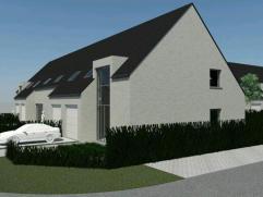 Nieuwbouwwoning (halfopen) op 272 m² te Gistel. Met ruime living, open keuken en 3 grote slaapkamers. Ruime zolder. E-peil max 60. Lot 16.
