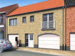 Nieuw te bouwen woning in landelijke stijl in het rustige Zevekote op 134 m² grond. Ingericht op gelijkvloers met garage, living met open