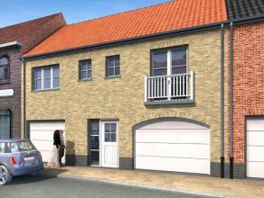 Nieuw te bouwen woning in landelijke stijl in het rustige Zevekote op 134 m² grond. Ingericht op gelijkvloers met garage, living met open keuken