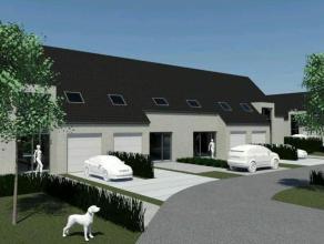 Nieuwbouwwing in centrum Gistel op 199 m². Gesloten bebouwing met ruime living, open keuken en berging. 3 slaapkamers en badkamer.Mog.tot 4de sla