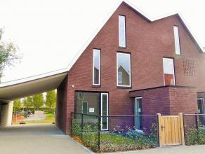 Gezocht: huurder/bewoner voor deze net opgerichte kijkwoning in eigentijds woonproject. Woning omvat inkom, toilet, leefruimte, geïnstalleerde k