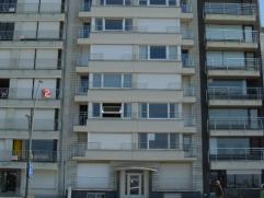 Residentie Solemare appartement 01.02 3 slaapkamer appartement + Kelderstudio. Appartement Solemare is gelegen op de Zeedijk van Oostduinkerke. Fronta