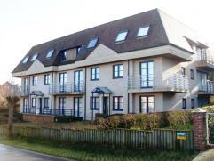 Residentie Karthuizer Appartement C1 Te midden van het groen, rustige ligging, nabij bij het centrum van Oostduinkerke. 2 slaapkamer appartement. Inde