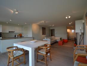 Zeer mooi en hoogwaardig afgewerkt appartement met mooie terrassen en zicht op de binnentuin van Domein Elzenhof. Op wandelafstand van de winkels, res