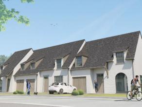 NIEUWBOUW: landelijke woningen (nog 4 halfopen en 1 gesloten beschikbaar) uitstekend gelegen op een nieuwe verkaveling aan de Bommelstraat (thv nr. 62