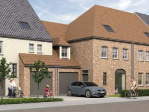 In de Molenstraat in Heule (Kortrijk) ter hoogte van huisnummers 141 - 153 bouwen wij 5 nieuwe eengezinswoningen in pastorijstijl. Deze ruime woningen