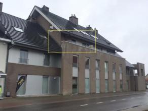 Verzorgd één- slaapkamerappartement met terras te Tielt. Het appartement is gelegen op de 2de verdieping en is toegankelijk via de lift.