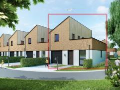 Deze prachtige nieuwbouwwoning is rustig gelegen nabij het station van Waregem. De woning omvat een inkom met gastentoilet, ruime garage met plaats vo