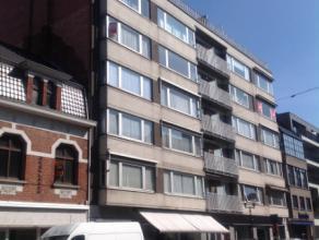 Dit appartement gelegen op de 4de verdieping omvat: inkomhal met apart toilet, leefruimte, ingerichte keuken, badkamer met ligbad en lavabo, 2 slaapka