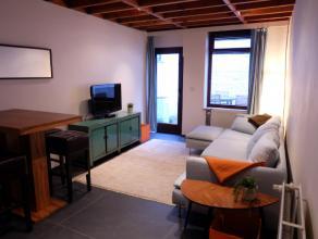 Deze gezellige woning is gelegen in het hartje van Gent, namelijk in de nabijheid van de Coupure en het Sint-Michielsplein. De woning wordt gemeubeld