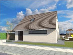 Moderne nieuwbouw speciaal ontworpen voor nieuwe verkaveling in hartje Roeselare.  Gelijkvloers: inkom met gastentoilet en traphal. Heel ruime leefru
