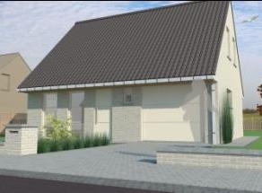 Een uitstekende match. Deze woning op perceel met perfecte oppervlakte. Ander idee ? Laat het ons weten, wij helpen U graag met GRATIS ontwerp en prij