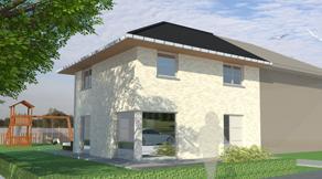 Ruime, moderne woning wordt gebouwd op topligging ! Dit is slechts een voorbeeld. Neem gerust contact met ons op voor Uw eigen GRATIS ontwerp en prijs