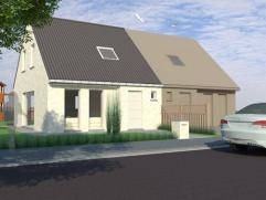 Moderne, compacte woning opgetrokken met kwaliteitsmaterialen, gebouwd op een strategische plaats. Unieke kans ! Eigen ontwerp ook mogelijkheid !
