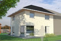 Ruime, moderne woning wordt gebouwd op topligging ! Dit is slechts een voorbeeld ! Neem gerust contact met ons op voor Uw eigen GRATIS ontwerp en prij