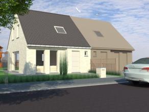Moderne, compacte woning opgetrokken met kwaliteitsmaterialen, gebouwd op een strategische plaats. Unieke kans ! Eigen ontwerp ook mogelijk !