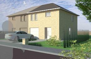 Ruime, moderne woning wordt gebouwd op een topligging ! Dit is slechts een voorbeeld. Neem gerust met ons contact op om Uw eigen GRATIS ontwerp en pri