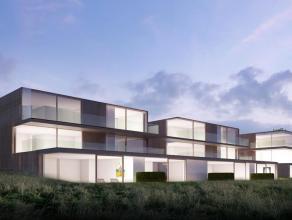 """MEER INFO ONDER NIEUWBOUW OP WWW.PARTNERSINVASTGOED.BEDit dakappartement bevindt zich in de nieuw te bouwen Residentie """"Molenmeersch"""" en heeft een for"""