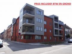 Centrum Ieper, gelijkvloers appartement met 2 slaapkamers en fietsenberging. Zo goed als nieuw.