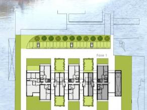 Bovengrondse staanplaats in residentie Dok-Sight gelegen te Zuidkaai 6-7-8 in Izegem.