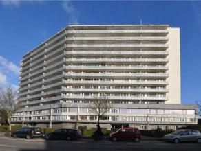 Goed gelegen 1-slaapkamerappartement bevindt zich langs de achterzijde, op de 6de verdieping van een aangename en rustige residentie, RIJSENBERG genaa