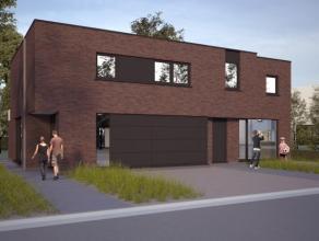 Prachtige ruime nieuwbouwwoning in Eine, bestaande uit inkomhall, living met open keuken, berging, garage, zuidgerichte tuin. Op de 1ste verdieping be
