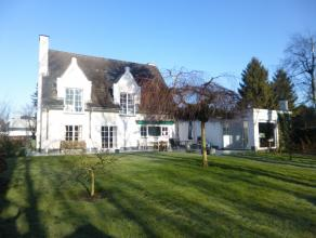 Stijlvolle villa met sublieme Zuidgerichte tuin met grote privacy grenzend aan het natuurgebied 'Bourgoyen - Ossemeersen, gelegen in een uiterst rusti