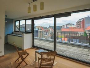 Instapklaar nieuwbouwappartement te Gent-Zuid Dit dak-appartement bestaat uit : Inkomhal, living, eetruimte, keuken, 2 slaapkamers, badkamer, toilet,