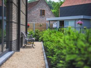 Laatste appartement in een oase van rust in idyllisch Lovendegem (hoek Kasteeldreef- Appensvoorde) Dit energiezuinige duplexappartement in oerdegelijk