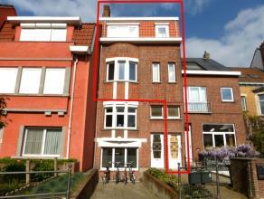 Dit gebouw is zéér centraal gelegen vlakbij het Sint-Pietersstation. De eerste verdieping bestaat uit een leefruimte, slaapkamer, volled