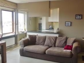 LEDEBERG - Brusselsesteenweg: smaakvol, volledig gerenoveerd appartement op de 5de verdieping. Indeling: Inkomhal met berging, woonkamer met open keuk
