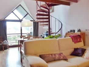 DE PINTE - FLORASTRAAT: Lichtrijk appartement, instapklaar. Omvat een aangename leefruimte met balkon, uitgeruste keuken, ruime berging, 2 slaapkamers