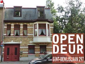 GENT - Sint-Denijslaan, op wandelafstand van station Gent-Sint-Pieters: Karaktervolle woning met grote, zonnige tuin (450 m² perceel). Omvat: ink