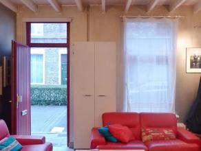 Gent Dampoort - Biekorfstraat 77 : Leuke hoekwoning in rustige straat met leefruimte, keuken met dampkap en kookplaat, bergruimte en afzond. toilet, o