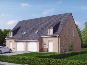 Landelijk gelegen pastoriewoning Deze nieuw te bouwen woning in pastoriestijl is landelijk gelegen in Ertvelde en maakt deel uit van een nieuw woonpro