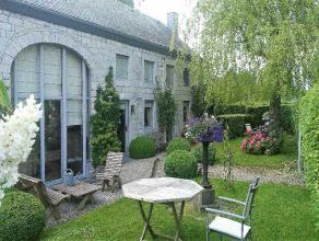 Dans la magnifique rgion de Durbuy, ravissante maison 19me sise sur un terrain de 60 ares offrant une agrable vue sur le vallon. Celle-ci a fait l'obj