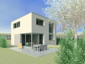 Nieuw te bouwen, vrijstaande woning met 4 slaapkamers en grote tuin. De woning is standaard reeds luxueus uitgerust maar het ontwerp en de afwerking z