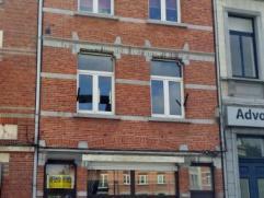 Dendermonde, Werf 2 ? gelijkvloers.In het hart van de stad gelegen gelijkvloers appartement met 1 slaapkamer.Indeling:Binnenkomen in de diepe woonkame