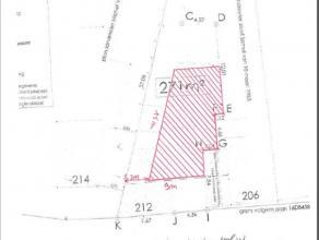 Bouwgrond van 271m op de verbindingsas Aalst-Dendermonde-Asse met een straatbreedte van 12m. Mogelijke bouwbreedte is 9m en diepte is 15m. 3 bouwlagen