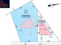 BOUWGROND VAN 750 m² TE BONHEIDEN Bouwgrond voor open bebouwing op een perceel van 750 m² te Bonheiden. Deze grond heeft een straatbreedte v