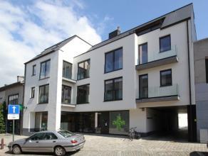 Volledig instapklaar nieuwbouwappartement (113 m²) - 30 m² zuidgericht terras 1ste verdieping omvattende : open living, aparte toilet, volle