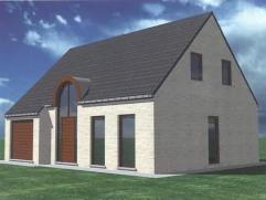 In de verkaveling te 9700 OUDENAARDE ( Ename ), PuithoekstraatNOG TE BOUWEN: Nieuwbouw villa met tuin gelegen op lot 3  (5a 22ca) bestaande uit Gelijk