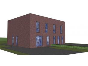 In de verkaveling te Ronse aan de Gebroeders van Eyckstraat, LOT 2 NOG TE BOUWEN: Nieuwbouw half open bebouwingen met tuin en privatieve parkeerplaats